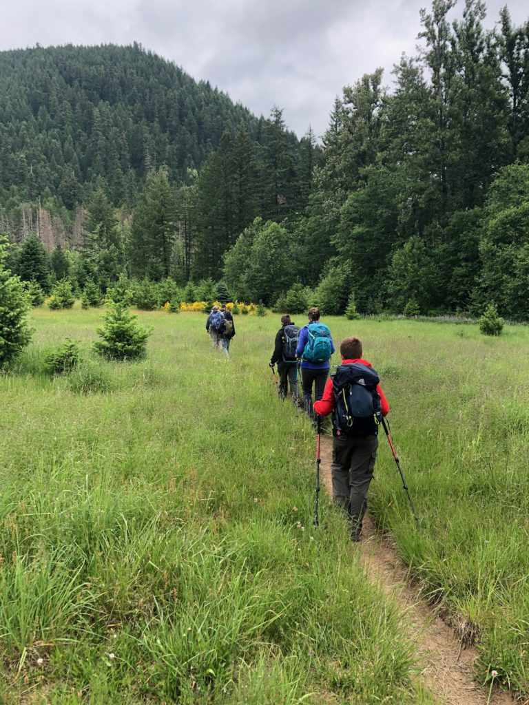 Pacific Trail Crest Hike